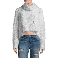 Free People Isle of Sky Cropped Turtleneck Sweater ($240) ❤ liked on Polyvore featuring tops, sweaters, apparel & accessories, ivory, turtleneck sweater, cable knit turtleneck sweater, cropped sweater, long sleeve sweater and turtleneck crop tops