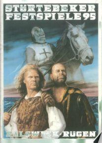 Poster Störtebeker Festspiele 1995, ein Klassiker. Keywords: Störtebeker, Pirat, Rügen, Urlaub, Naturbühne Ralswiek