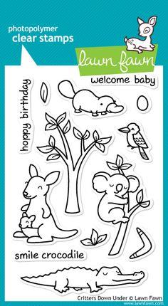 ScrapbookPal.com - Lawn Fawn Clear Stamps - Critters Down Under, $11.99 (http://www.scrapbookpal.com/lawn-fawn-clear-stamps-critters-down-under/?gclid=CjwKEAjw3YipBRDL2bHhjLmFkQsSJADtzktjN1s3In8wPbvItSmacnKJj4zPNP9QNo4YwLbCRmHUBhoCW1rw_wcB/)
