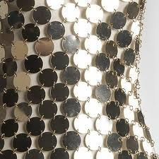 paco rabanne dress metal - Cerca con Google