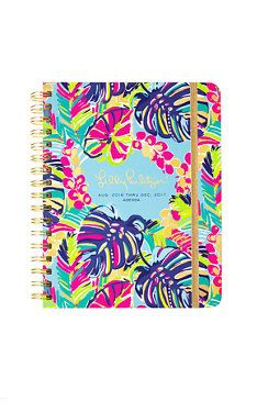 Large Lilly Agenda (MAKE SURE 2017-2018 when you order!!):-)