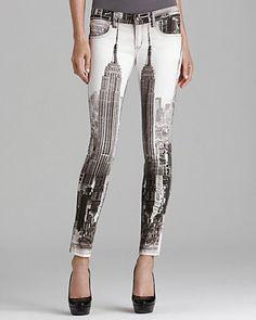 Frankie B Jeans - My BFF NYC Skyline Legging   Bloomingdale's