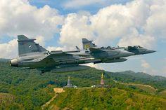 Royal Thai Air Force (RTAF) Saab Gripen C / D.