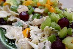 A Bountiful Kitchen: Mango Chicken Pasta Salad with Tarragon Lime Dressing #ABKblendtecgiveaway
