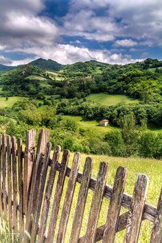 ponderation:  The Fence- Asturias, Spain byJose Gonzalez