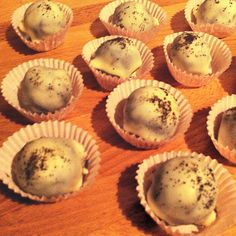 Fairtrade Espresso Chocolate Truffles Recipe for Fairtrade Fortnight. #fairtrade #chocolate