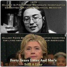 hillary history of prevarication... some things never change
