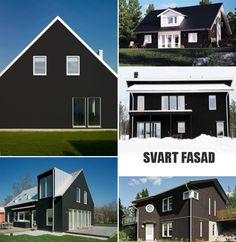 Svart Fasad