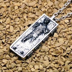 carbonite necklace.
