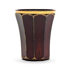 A Bohemian Lithyalin beaker from the workshop of Friedrich Egermann, Haida Circa 1830-35