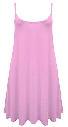 Womens Plain Sleeveless Cami Strappy Swing Dress ZJ Clothes https://www.amazon.com/dp/B00WXXZO4Y/ref=cm_sw_r_pi_dp_x_cr88xbJ6XGV7C