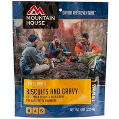 Mountain House Breakfast Skillet - 2 Servings Hash browns, scrambled eggs mixed with pork sausage, peppers and onions for breakfast while backpacking? The Breakfast Skillet is a delicious meal to start your morning off right. Breakfast Skillet, Breakfast Hash, Camping Breakfast, Breakfast Items, Perfect Breakfast, Emergency Food, Survival Food, Emergency Preparedness, Prepper Food