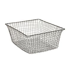 ah ha! finally found the perfect basket for my kitchen island.