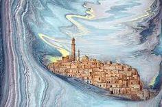 hikmet barutçugil Ebru Art, Turkish Art, Marble Art, Islamic Art, Istanbul, Abstract Art, Photography, Painting, Wallpapers