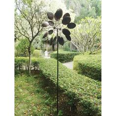 As long as you are happy with your purchase of Big Modern Art Kinetic Outdoor Metal Dual Wind Sculpture Spinner Pinwheel, please leave us a positive feedback. Description from ebay.com. I searched for this on bing.com/images