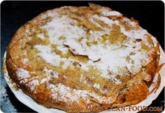 Moroccan Chicken Bastila - Pastilla   Moroccan-food.com