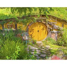 'Residence house in the Shire Hobbit from The Lord of the Rings - south New Zealand