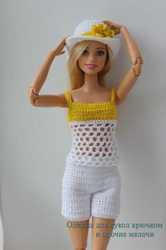 Crochet doll clothes and other little things How to Crochet a Bear - Crochet Ideas Debbie Shoesmith dshoesmith Barbie! Crochet doll clothes and other little things Debbie Shoesmith Crochet doll clothes and other little things dshoesmith How to Cr Crochet Barbie Patterns, Crochet Doll Dress, Barbie Clothes Patterns, Crochet Barbie Clothes, Doll Clothes Barbie, Barbie Dress, Barbie Doll, Crochet Ideas, Knit Crochet