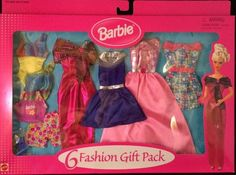 Mattel Barbie Clothing Fashion Gift Pack for Every Occasion 6 Complete Outfits   eBay