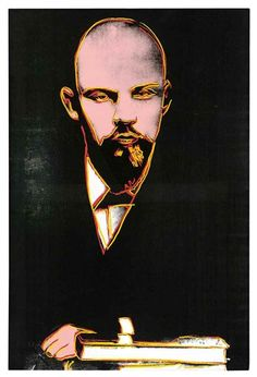 Andy Warhol - Lenin, 1986