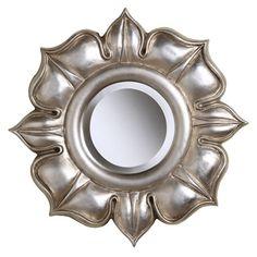 Silver Wall Mirror.