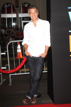 Timothy Olyphant  at the LA premiere of This Is Where I Leave You.