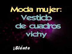 ▶ Vestido de cuadros vichy ¡Estamos de moda! - YouTube  http://www.xeitosomoda.com https://www.facebook.com/xeitosomoda