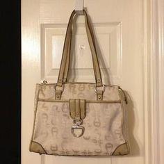 "I just added this to my closet on Poshmark: Etienne Aigner handbag. Price: $35 Size: 12""x4""x10"""
