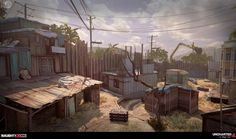 ArtStation - Uncharted 4: Madagascar City MP, Rogelio Olguin