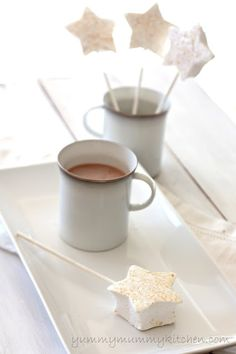 """Pin It    My 4 year old munchkin has been asking for marshmallows and hot cocoa for weeks. And for weeks I have been saying, """"No, get those..."""