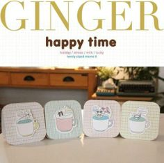 Cute Korean Happy Time Sticker Notepad Post It Bookmark Marker Memo Sticky Notes | eBay $1.99