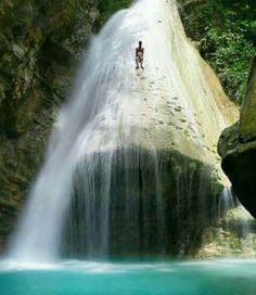 waterfall ohoi hoko kei island