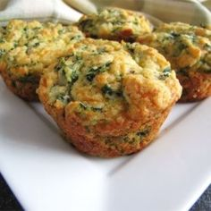 Spinach Cheddar Muffins - Allrecipes.com