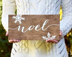Baby it's cold outside Christmas Sign Wood by PaperandPineCo