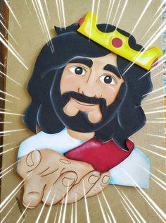 Sunday School Activities, Bible Activities, Activities For Kids, Chalk Pictures, Jesus Pictures, Bee Crafts, Diy And Crafts, Crafts For Kids, Bible Quiet Book
