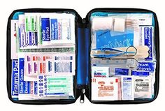 First Aid Only All-purpose First Aid Kit, Soft Case with Zipper, 299-Piece Kit, Large, Blue, 2016 Amazon Most Gifted Health Care  #Health-Personal-Care