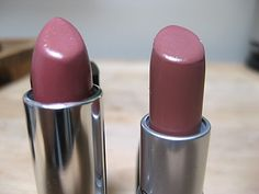MAC Modesty (Cremesheen) vs Maybelline Warm Me Up