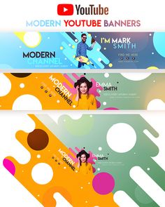 The template allows users to edit in Adobe Photoshop. Youtube Banner Design, Youtube Banner Template, Youtube Design, Youtube Banners, Poster Sport, Poster Cars, Poster Retro, Design Food, Web Design