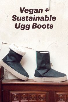 Sustainable vegan ugg boots, made from recycled + organic cotton. Made ethically in Europe. Slipper Boots, Vegan Shoes, Boot Shop, Ugg Boots, Uggs, Organic Cotton, Slippers, Europe, Shopping