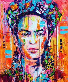 frida kahlo paintings Frida Khalo portrait painting Frida art in orange red color Frida Kahlo Artwork, Frida Paintings, Frida Kahlo Portraits, Frida Art, Red Paint Colors, Red Color, Orange Color, Frida E Diego, Mexican Artists