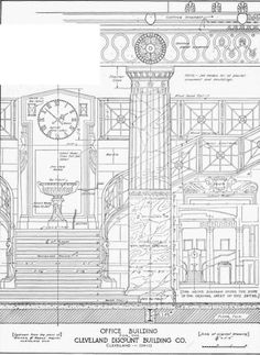WALKER & WEEKS, ARCHTS., Cleveland  |  Drawings for the Cleveland Discount Biulding.