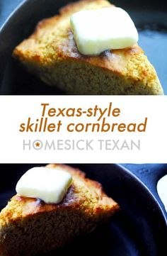 Classic things bring me joy. Cast Iron Skillet Cornbread, Iron Skillet Recipes, Cast Iron Recipes, Cornbread Recipes, Homesick Texan, Side Recipes, Beef Recipes, Cast Iron Cooking
