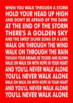 Personalised Favourite Football Song Chant Liverpool You& Never Walk Alone Art Anfield Liverpool, Liverpool Champions, Liverpool Memes, Liverpool Bird, Liverpool Football Club, Manchester United, Lfc Wallpaper, Bonito