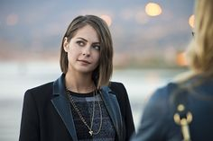 Pin for Later: See All the Festive Pictures From Arrow and The Flash's Holiday Episodes Arrow Willa Holland as Thea Queen.