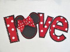 Minnie Mouse Shirt  Girls Disney Shirt by OhSoCheekyBoutique, $25.99