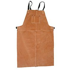 CONDOR Welding Bib Apron, Leather, 36 x 24 In - Welding Aprons - 5T179|5T179 - Grainger Industrial Supply $32