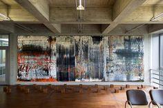 Gerhard Richter: «Sankt Gallen», 1989. Canvas, two-piece. // Gerhard Richter: «Sankt Gallen», 1989. Leinwand, zweiteilig.