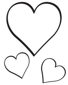 Resultado de imagen para corazon para colorear | pHotos