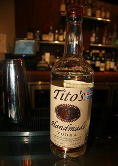 Tito's Vodka. Need I say more?