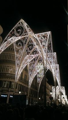 Christmas lights from around the world  - Calle Marqués de Larios is the main shopping street in Málaga, Spain.